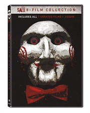 Saw 1 2 3 4 5 6 The Final Chapter Jigsaw 8 Film Collection (tobin Bell) DVD