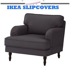 IKEA Stocksund COVER SLIPCOVER FOR Chair  Nolhaga Dark Gray  502.803.24
