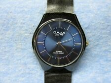 Men's QMAX Water Resistant Watch w/ New Battery