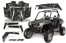 AMR Racing Polaris RZR 900XP Sticker Graphic Kit Decal UTV Parts 11-14 CAMO BLK