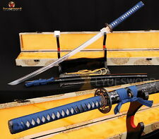 Japanese Samurai Sword KATANA  1060 High Carbon Steel Full Handmade Sharp Blade
