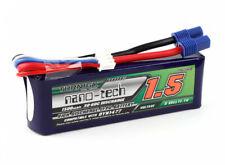 1500mAh 3S 11.1V 30-60C LIPO BATTERY MINI 8IGHT T DB EC3 IC3 DYN1477 US seller