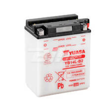 Yuasa YB14L-B2 12V 14Ah Batería para Motocicleta - Blanca
