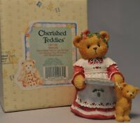 Here/'s Some Cheer To Last The Year #141186   Numbered  1995 Vintage Cherished Teddies Christmas Amanda