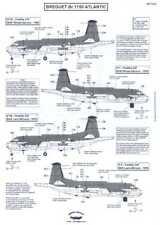 Berna Decals 1/72 BREGUET Br.1150 ATLANTIC Long Range Recon Aircraft