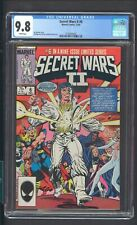 SECRET WARS II 6 CGC 9.8 12/85 JIM SHOOTER STORY WHITE PAGES MARVEL