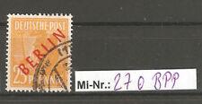 Berlin Mi-Nr.: 27 aus Rotaufdrucksatz sauber gestempelt  gepr. Schlegel.BPP