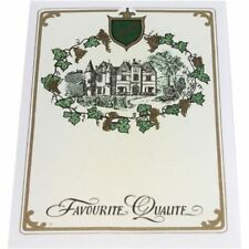 Wine Labels no 79 plain Chateau Design packets of 25's