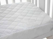 Bubba Blue Quilted Fitted Waterproof Cot Mattress Protector - STANDARD COT