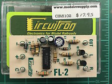 CIRCUITRON 5102 FL-2 Alternating Flasher Circuit Board 800-5102 MODELRRSUPPLY-co