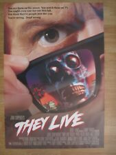 MOVIE POSTER  THEY LIVE