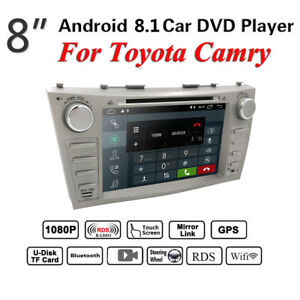 HD Android 8.1 Car Radio DVD GPS navigation For Toyota Camry 2007 2009 2010 2011