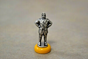 Clue 50th Anniversary Colonel MUSTARD Token Replacement Part Piece Mover Yellow