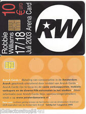 Netherlands Arena cards : Robbie Williams Concert 2003 Amsterdam Art.A051