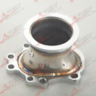 "T25 T28 GT25 GT28 To 2.5"" 63mm V-band Clamp Flange Turbo Down Pipe Adapter"