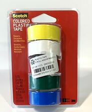 Scotch Super Thin Waterproof Vinyl Plastic Colored Tape