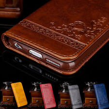 Retro Leather Magnetic Stand Flip Wallet Case Cover for iPhone 6S 7 7Plus Gift