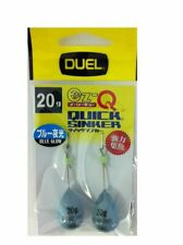 Duel EZ-Q Blue Glow Quick Sinker For Boat Squid Fishing