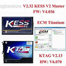 Kess V2 V2.32 V4.036+KTAG V2.13 V6.070ECU Chip Tuning Tool OBD2 Unlimited Token