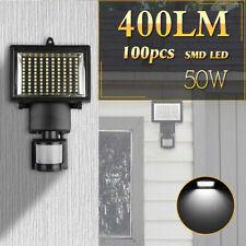 Solarlampen für Außen+Bewegungsmelder,Wandleuchte 100 Led Solarlicht