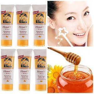 6 Honei V Facial Foam Best Natural Approach Smooth Soft Honey Collagen Soft Face