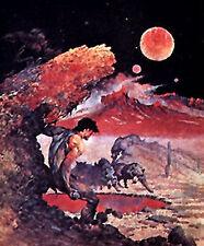 "Wolfmoon- Frank Frazetta Vintage Print/Poster 18"" x 23"" Rolled (Fz-3-5)"