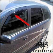 Déflecteurs de vent pluie air teintées pour Opel Meriva A 2002-2010
