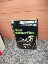 Send Inspector West, by John Creasey, ein Buch in Englischer Sprache