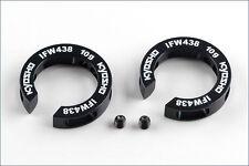 Pesos de ajuste trasero 15g Kyosho Ifw-438-15 #703141