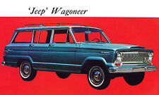 1967 Jeep Wagoneer - Promotional Advertising Poster