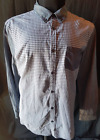 MENS LONG SLEEVED BUTTON UP SHIRT SIZE X-LARGE