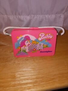 Vintage 1980s Poochie Overnighter Pink Plastic Box Purse Collectible Toy Rare!