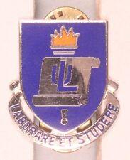 Army DI Pin:  Lincoln University ROTC - cb, Meyer 9M
