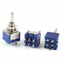 3X 5 Pcs 3A//125VAC 1.5A//250VAC Latching Red Push Button Switch On//Off A7K8
