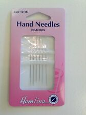 HEMLINE BEADING  HAND SEWING NEEDLES SIZE 10-15