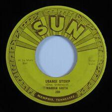 Rockabilly 45 WARREN SMITH Ubangi Stomp SUN HEAR