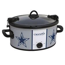 Dallas Cowboys Crock Pot Slow Cooker NFL Football Party Sports Cowboy Game Time