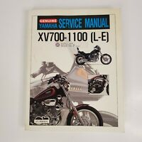 Genuine YAMAHA XV 700-1100 L-E  Motorcycle Service Manual LIT-11616-XV-11