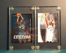 Lot of 2 Michael Jordan UD & Fleer with/case as pictured