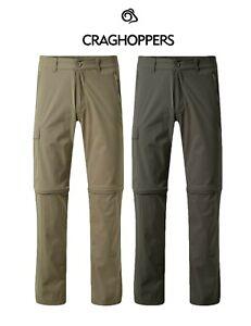 Craghoppers Men's Pro-Lite Convertible Zip Off Trousers. RRP £70