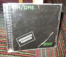 DR. DRE: 2001 MUSIC CD, CENSORED VERSION, 22 GREAT TRACKS, INTERSCOPE RECORDS
