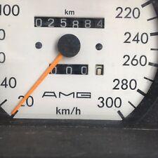 PRE MERGER AMG speedo Instrument Panel Dash Gauge Cluster W126 300KM/H GENUINE