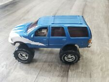 1997 Tootsie Toy Ford Expedition Monster Truck 4X4 Blue w/White Graphics 1:24