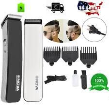 Rechargeable Cordless Hair cut Clipper trimmer Men Haircut & Beard Grooming SET