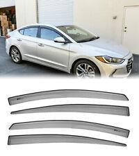 For 17-Up Hyundai Elantra Mugen Style Side Vents Window Rain Guards (Fits: Hyundai)