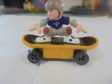 LL Fast Trackers Skateboarder w/Brn. Shirt/Red Helmet Slot Car w/Silicone tires