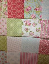 16 feuilles taster 6 x 6 première édition pretty Posy fabrication carte papier craft soutien