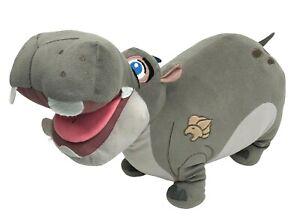 """Disney Lion Guard Beshte The Hippo Plush 17"""" Lg Stuffed Pillow Pal Jay Franco"""