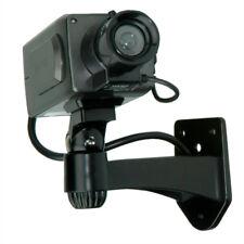 Dummy Indoor Zoom Kamera mit LED-Blinklicht, schwarz