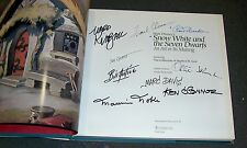 Signed 9X: SNOW WHITE & the Seven Dwarfs, An Art in its Making, 1st Disney RARE